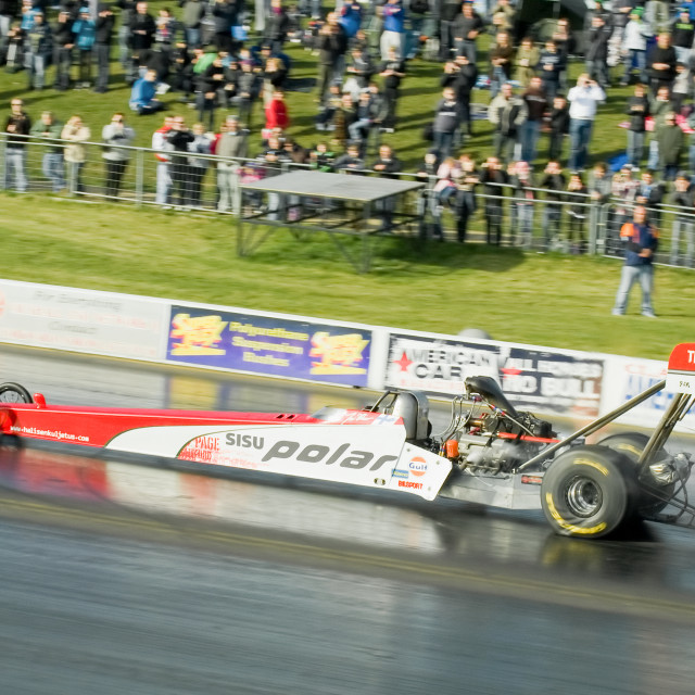 """top fuel dragster"" stock image"