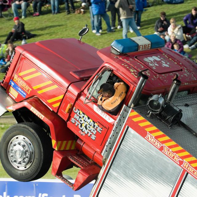 """stunt driving"" stock image"