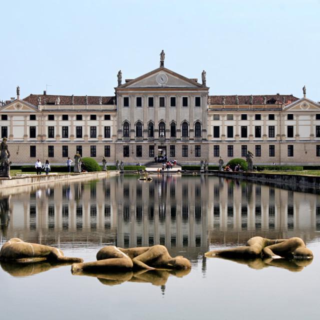 """VIlla Pisani, italian national museum"" stock image"