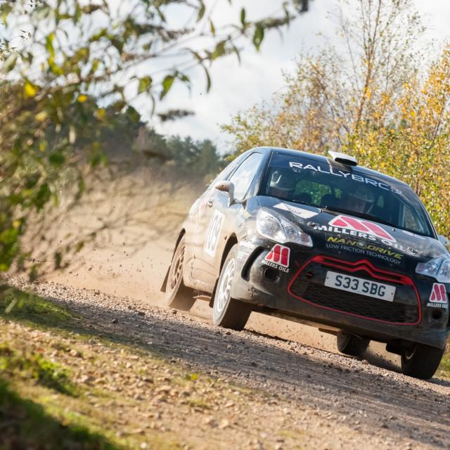 """Citroen DS3 rally car"" stock image"