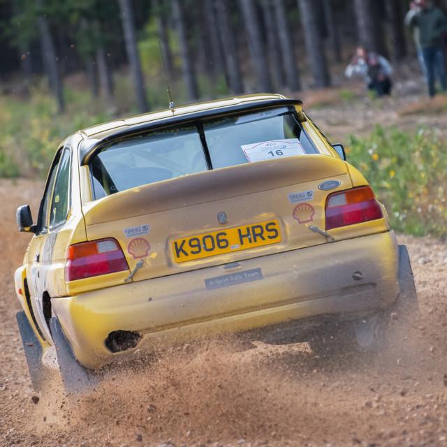 """Ford Escort Cosworth"" stock image"