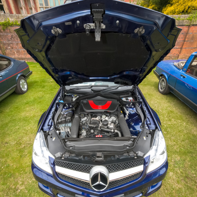 """Mercedes-Benz SL 350"" stock image"