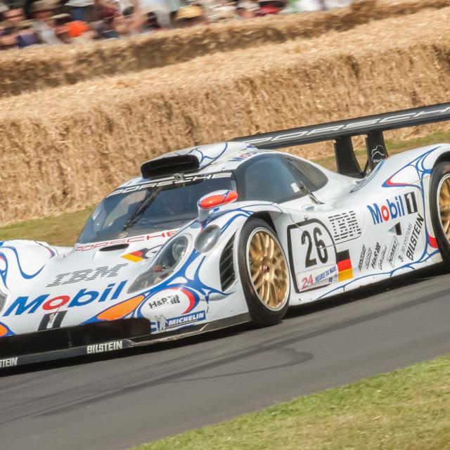 """""""Porsche 917"""" stock image"""