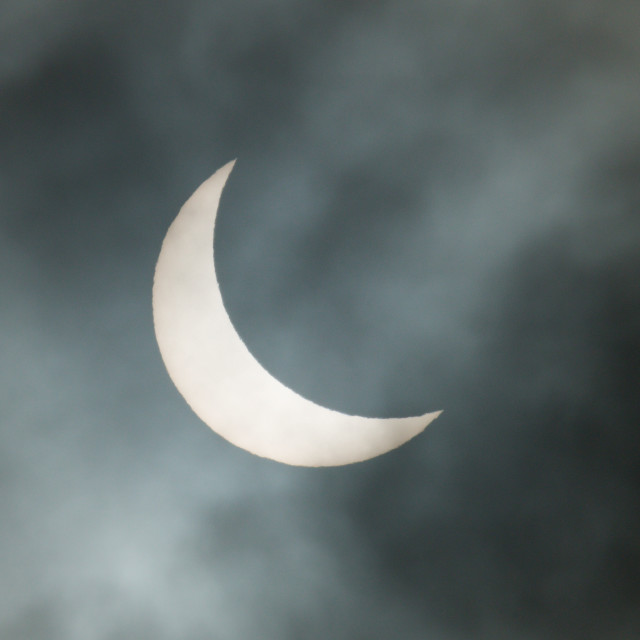 """Solar Eclipse 20/03/15"" stock image"