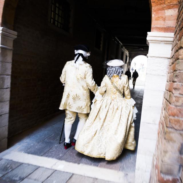 """""""Carnival custom in Venice (Venezia) Veneto Italy Europe"""" stock image"""