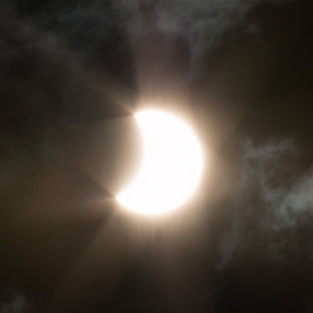 """Solar Eclipse 20/03/15 2"" stock image"