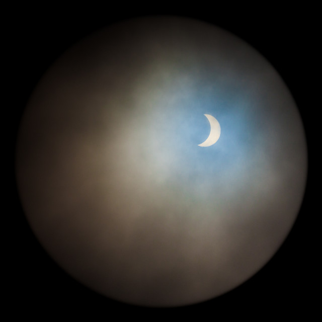 """Eclipse 2015"" stock image"