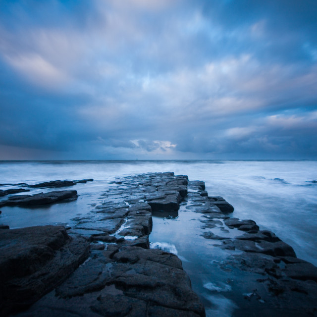 """Nash Point Blues"" stock image"