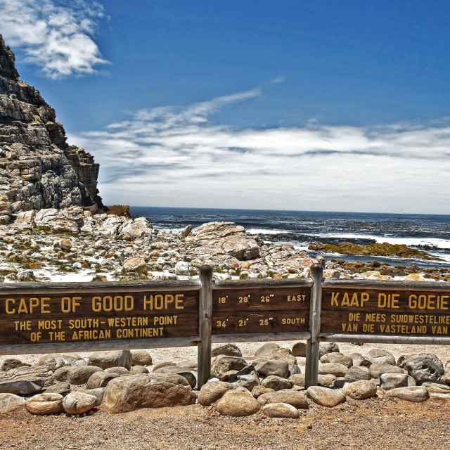 """WCC_9219- Cape of Good Hope"" stock image"