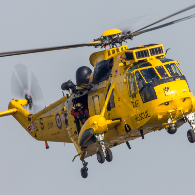 """RAF Sea King HAR3"" stock image"