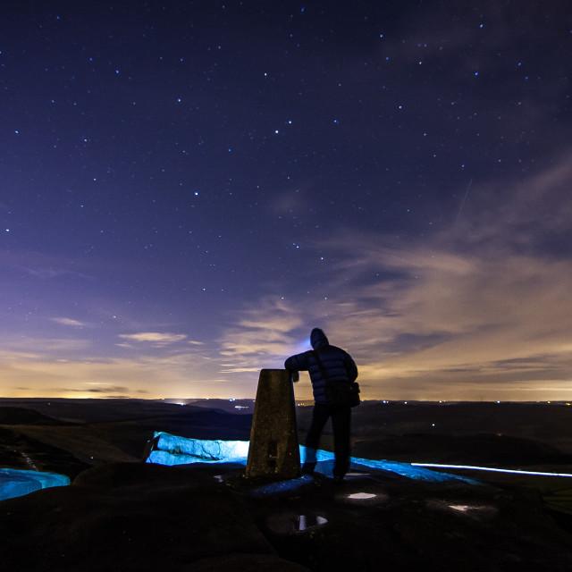 """Stargazer"" stock image"