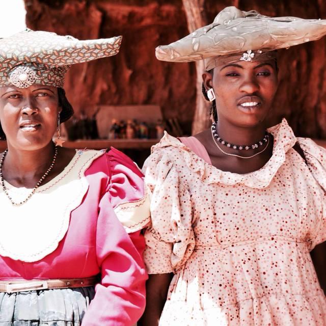 """""""namibian herero"""" stock image"""
