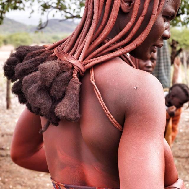 """Himba"" stock image"