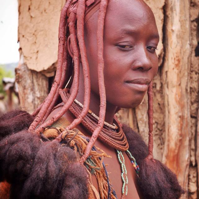 """himba woman"" stock image"
