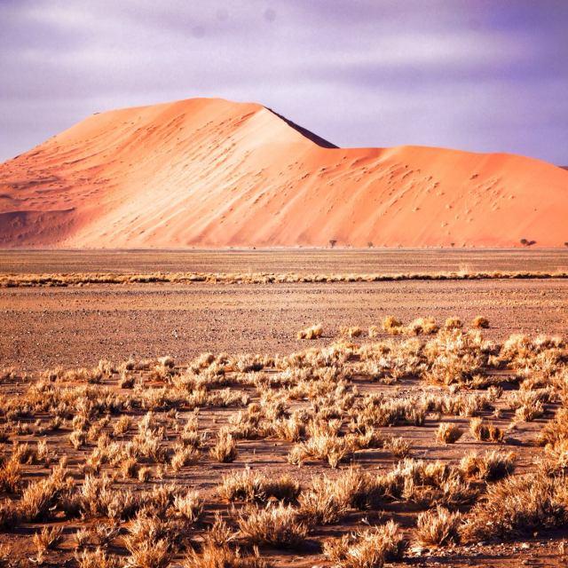 """""""soussevlei dunes, namibia"""" stock image"""
