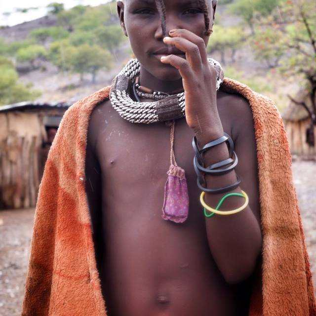 """himba child"" stock image"