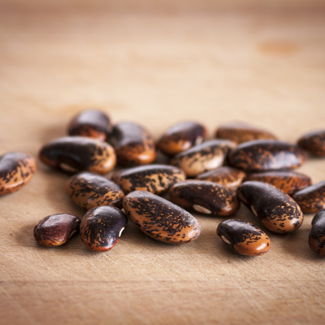 """""""Runner beans"""" stock image"""