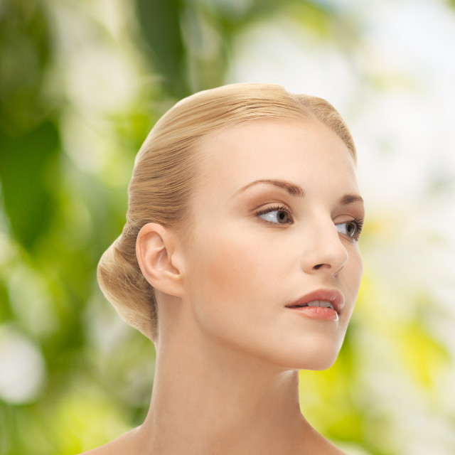"""""""beautiful woman with blonde hair"""" stock image"""