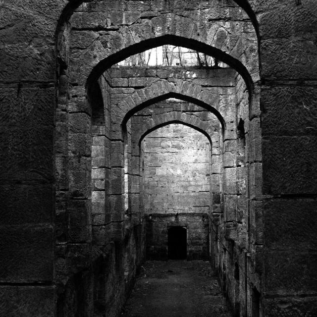 """Great Hallway"" stock image"