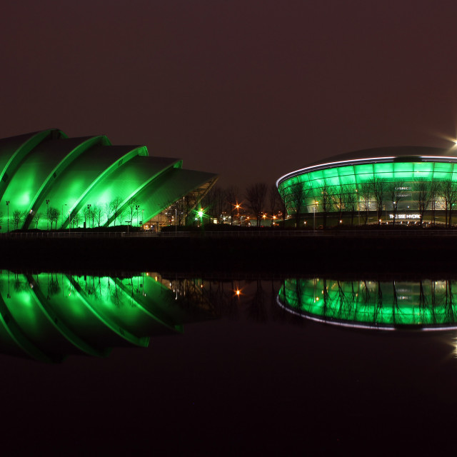 """SSE Hydro and Armadillo go green"" stock image"