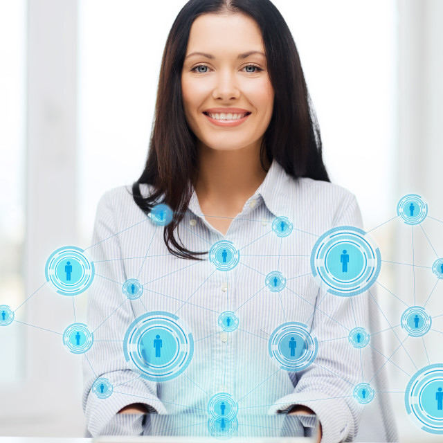 """businesswoman or student with tablet pc comuter"" stock image"