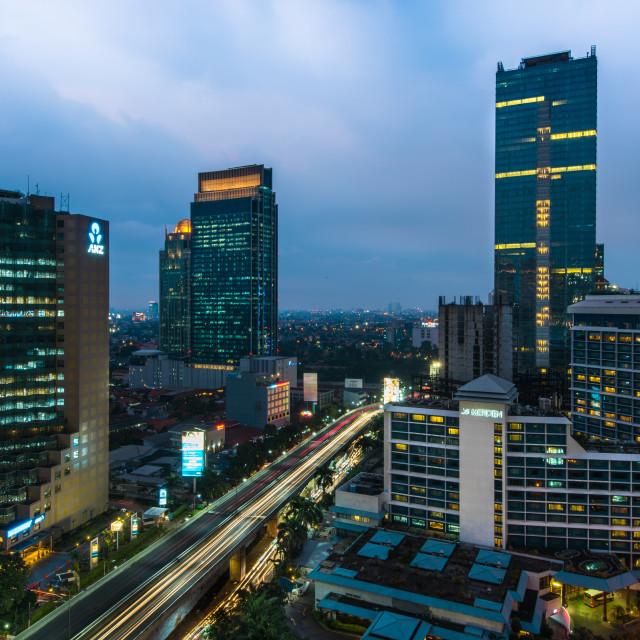 """Jakarta Le Meridien"" stock image"
