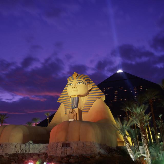 """Luxor Casino"" stock image"