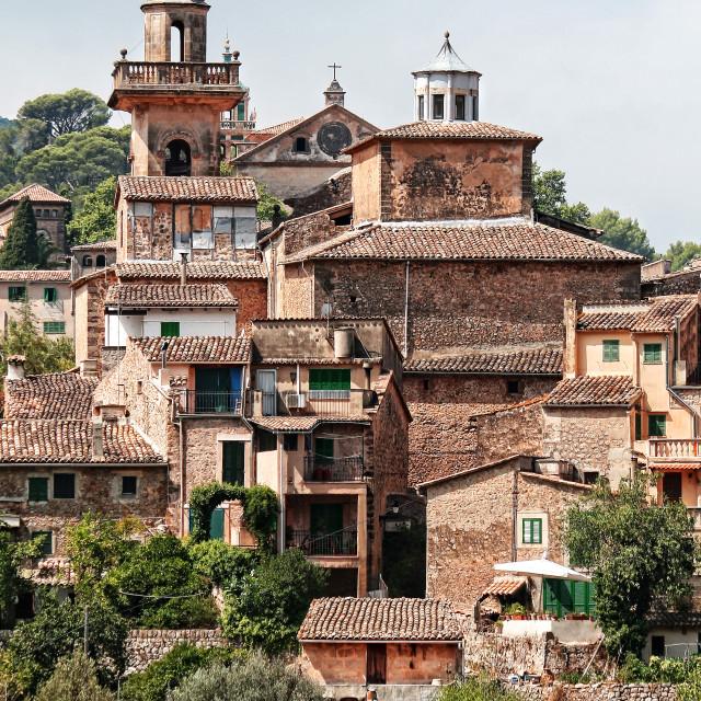 """Valdemossa, island of Majorca. Spain"" stock image"