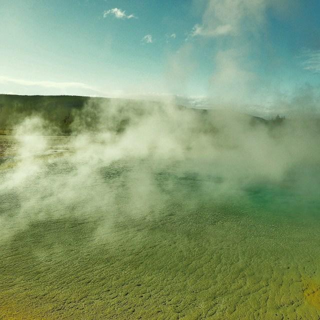 """Yellowstone"" stock image"