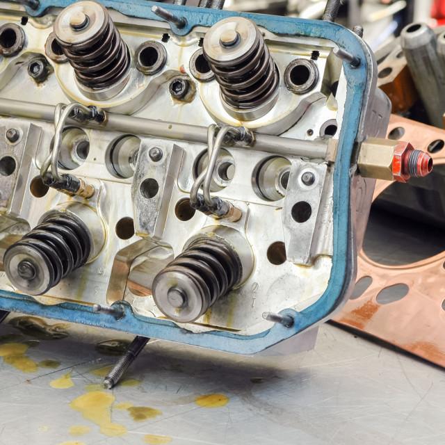 """auto engine"" stock image"