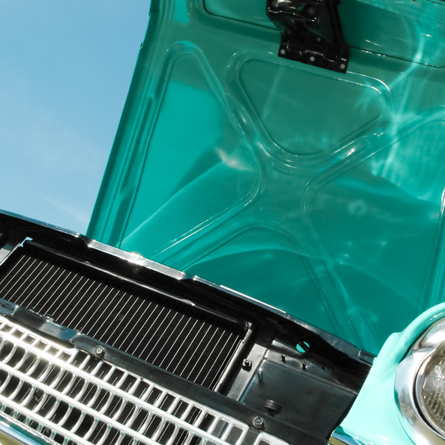 """""""classic car abstract"""" stock image"""