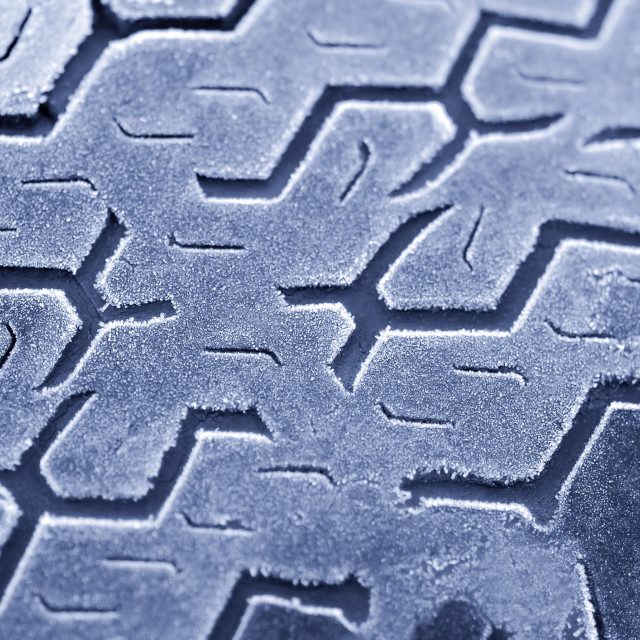 """iced tread"" stock image"