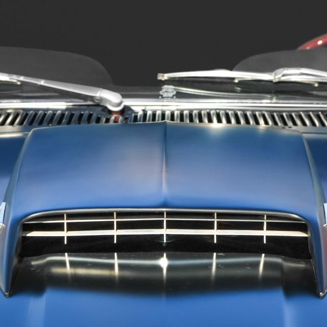 """""""muscle car closeup"""" stock image"""