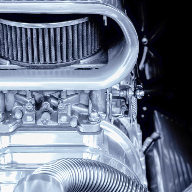 """performance engine"" stock image"