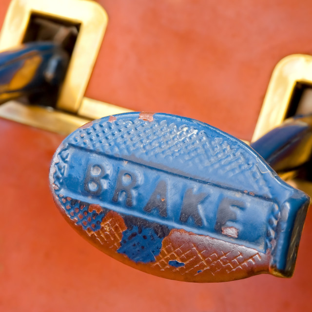 """""""brake pedal"""" stock image"""
