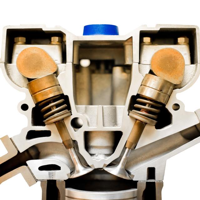 """engine cutaway"" stock image"