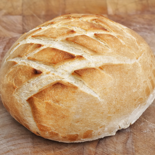 """golden loaf of bread"" stock image"