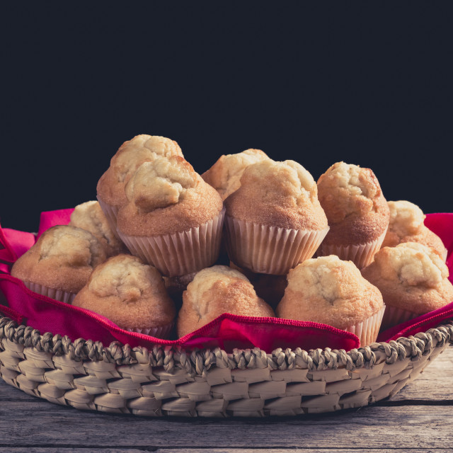 """Group of cupcakes"" stock image"
