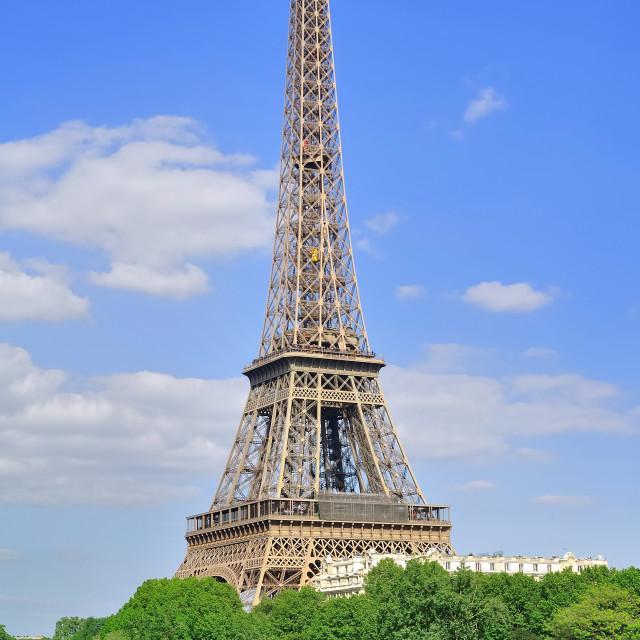 """Eiffel tower (Paris)"" stock image"