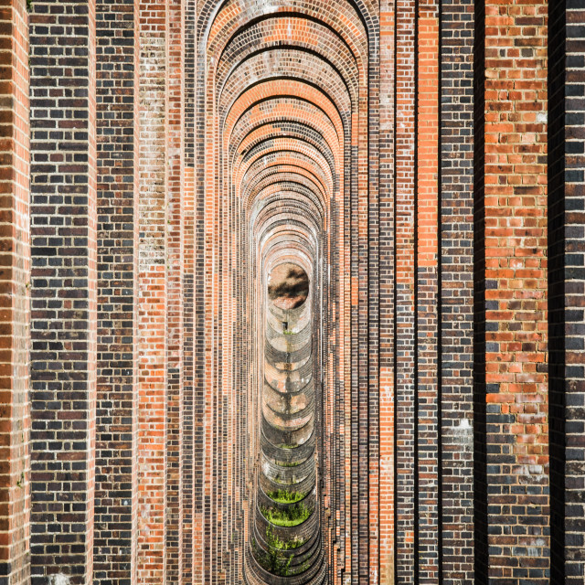 """Balcombe Viaduct"" stock image"