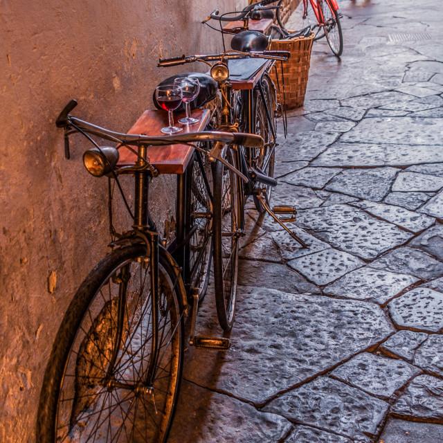 """Florentine atmosphere"" stock image"
