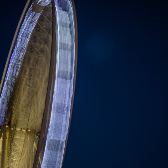 """Brighton at Night"" stock image"