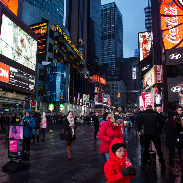 """Times Square, New York"" stock image"