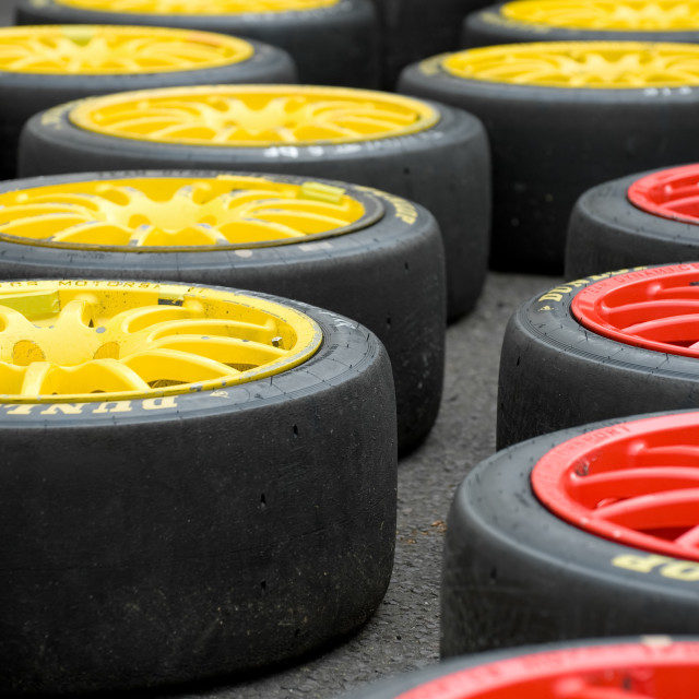 """slicks"" stock image"