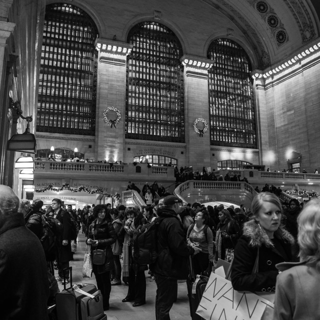 """Grand Central Station, New York"" stock image"