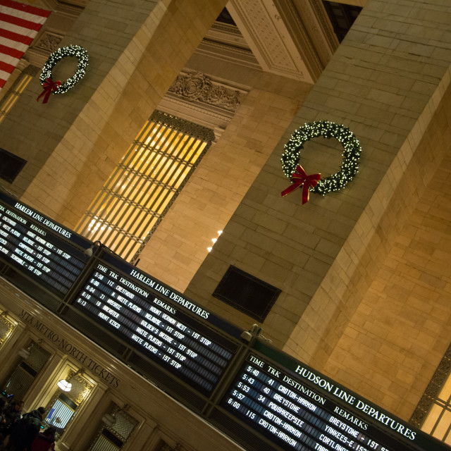 """""""Grand Central Station, New York"""" stock image"""