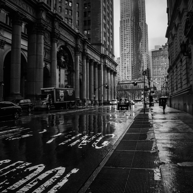 """Financial District, New York"" stock image"