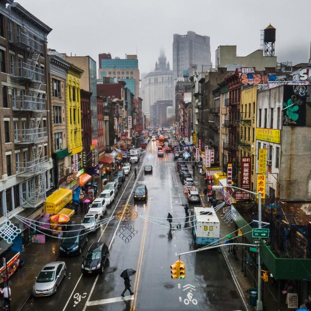 """""""Chinatown, NYC"""" stock image"""