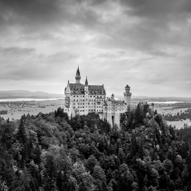 """Neuschwanstein Castle , Germany"" stock image"