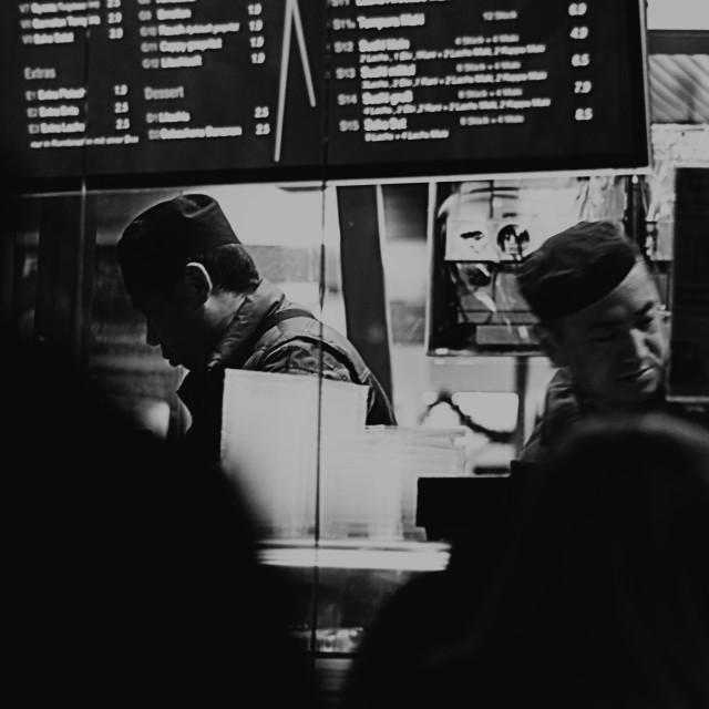 """Fast food"" stock image"